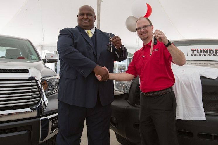 2016 Toyota Tundra Million Mile Delivery Handoff
