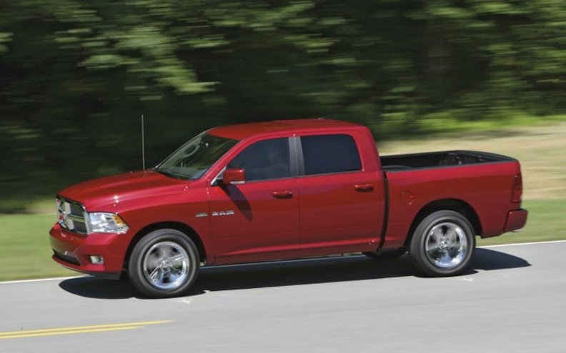 2009 Dodge Ram side View