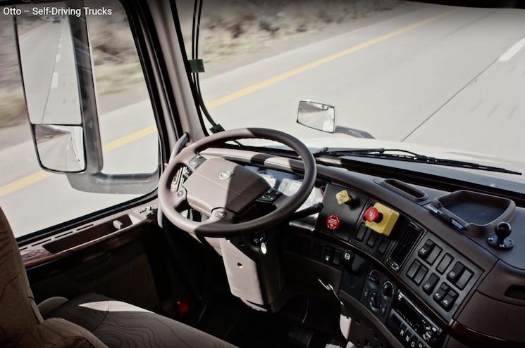 Otto Autonomous Trucks Test Driverless
