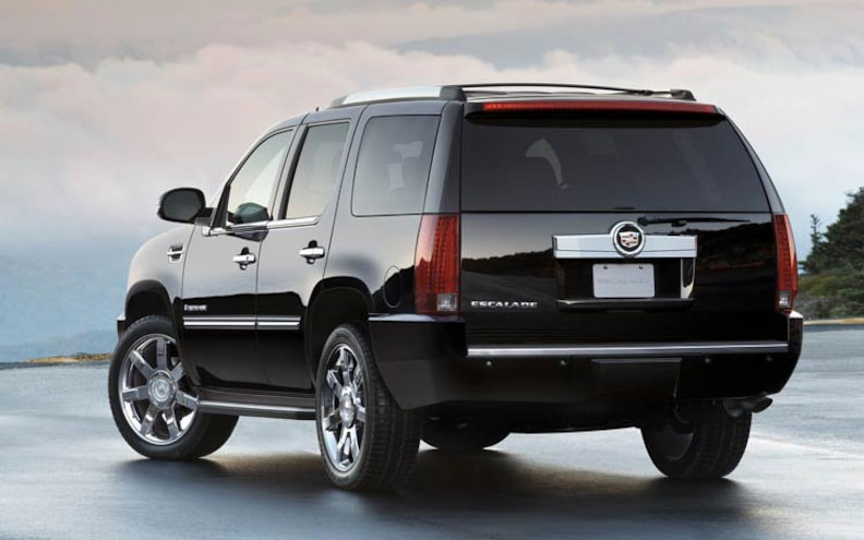 2009 Cadillac Escalade rear View
