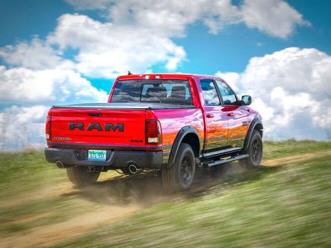 2016 Ram Rebel Mopar Edition Rear Three Quarter