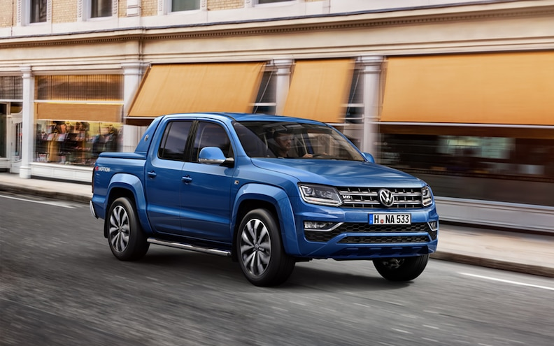 2017 Volkswagen Amarok is the Midsize Luxo Truck We Can't Have
