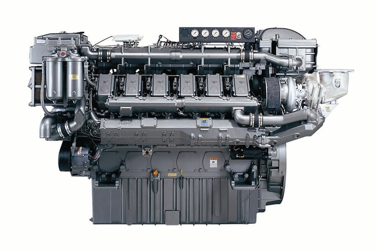 Yanmar 12AYM-WGT; The High Speed Marine Engine that Makes 1,822 hp and 6,300 lb-ft of Torque