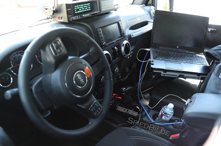 2018 Jeep Wrangler Gear Selector Interior