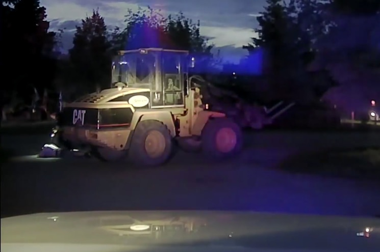 Front End Loader Slow Speed Chase 03