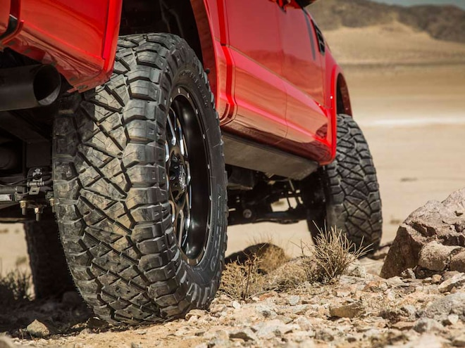 Ford F 150 Nitto Ridge Grappler
