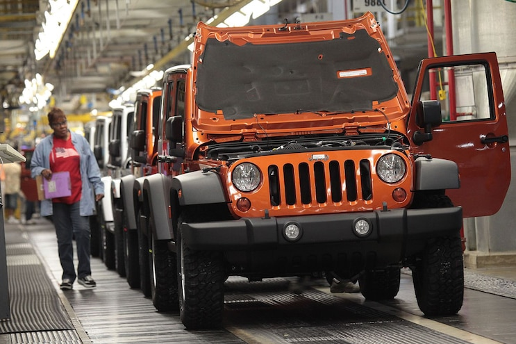 Jeep Assembly Plants Will Receive $1.05 Billion Investment From FCA