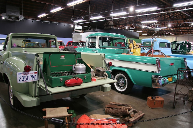 Ca Auto Museum Truck Exhibit 1960 Studebaker 1957 Chevy Cameo Rear