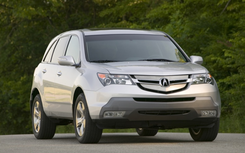 First Look: 2009 Acura MDX