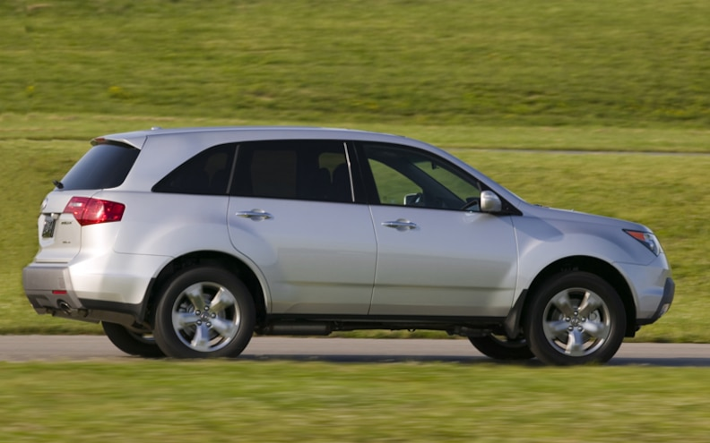 2009 Acura MDX side View