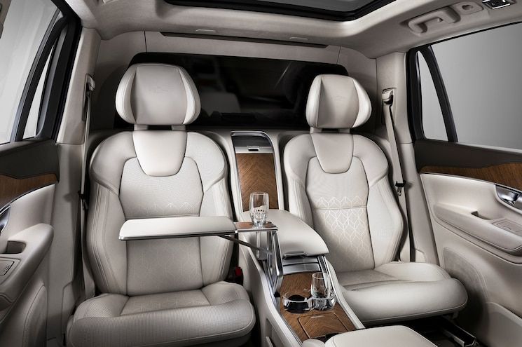 2016 Volvo Xc90 Excellence Rear Seats 02