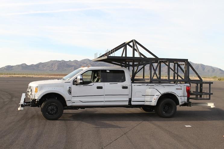 001 Auto News 8 Lug Work Truck Ford Super Duty Camper Testing Slide In Simulator Arizona Proving Grounds