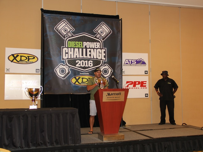 Diesel Power Challenge 2016 Awards Neal Torley