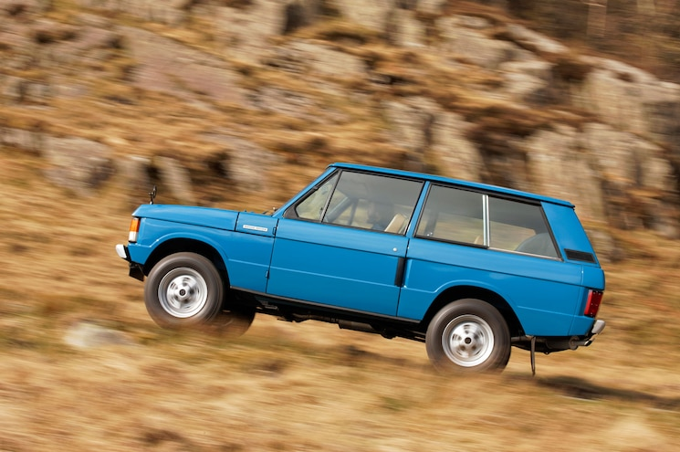 1970 Land Rover Range Rover Classic Heritage Division 03