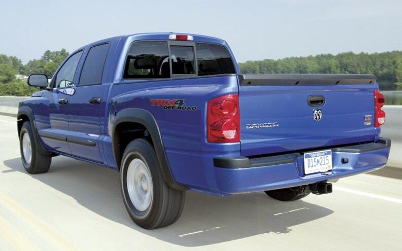 2009 Dodge Dakota rear View