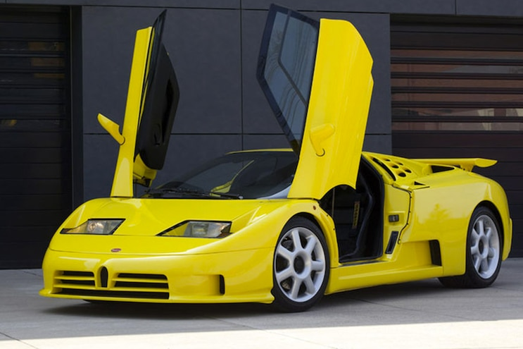 004 1992 Bugatti EB110 Four Turbo V12 Engine Wing Doors