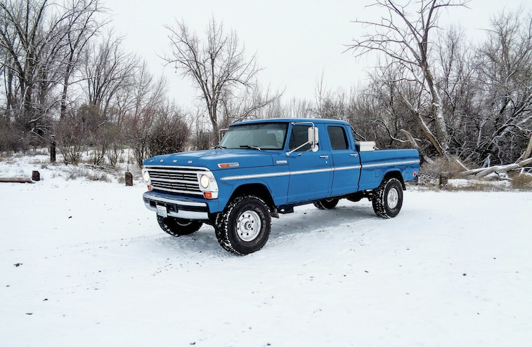 A 1971 Ford F-250 Hiding 1997 Secrets - Frankenstein's Monster