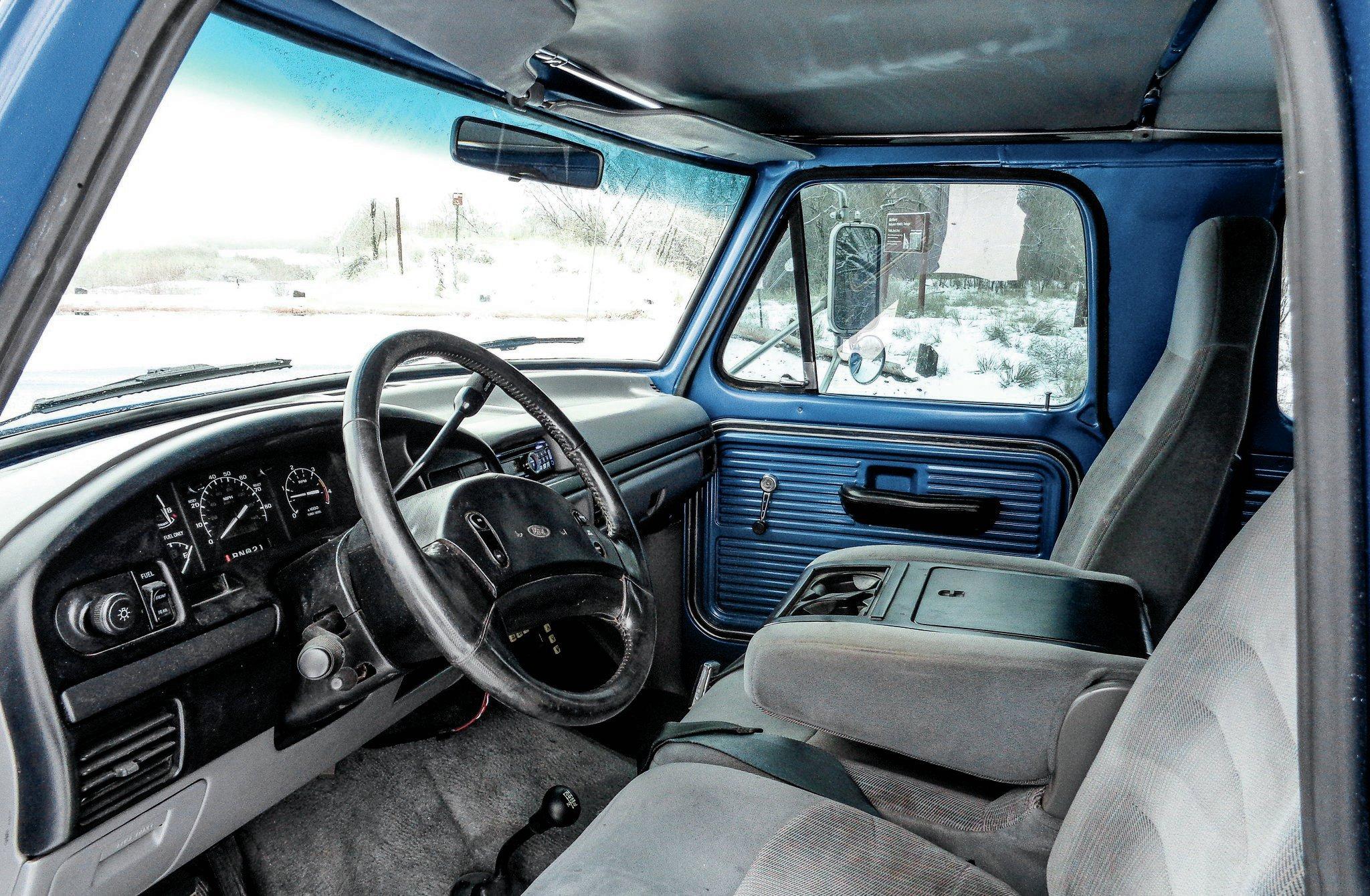 A 1971 Ford F 250 Hiding 1997 Secrets Frankenstein S Monster