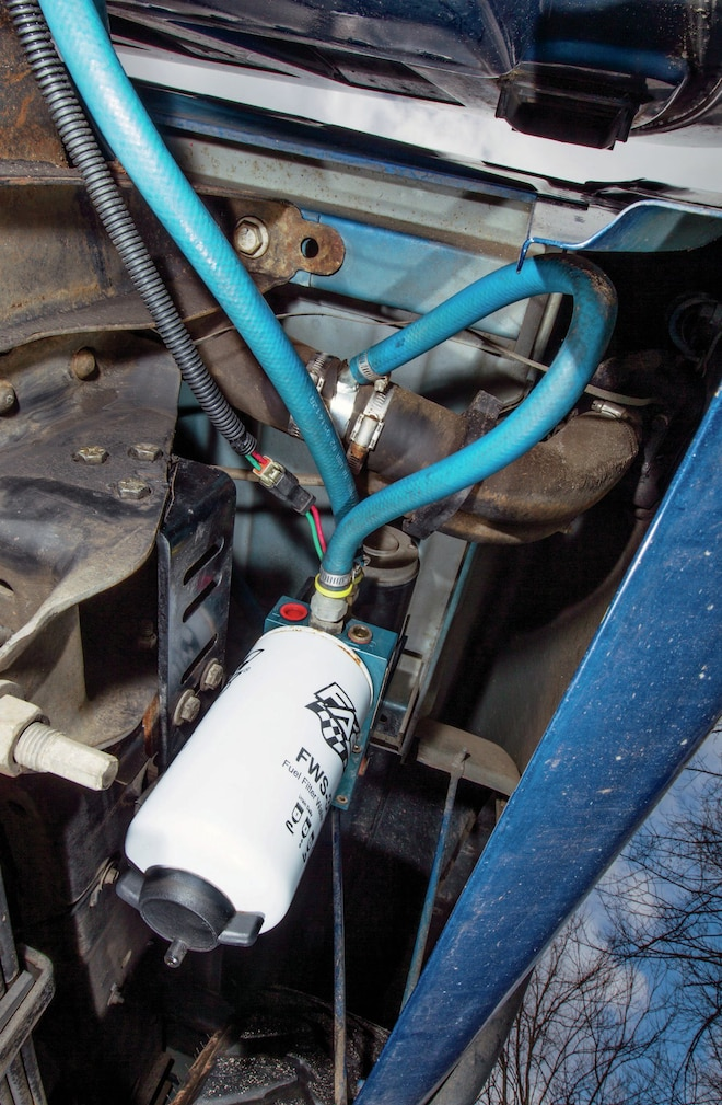 Fass Fuel Filter Installed