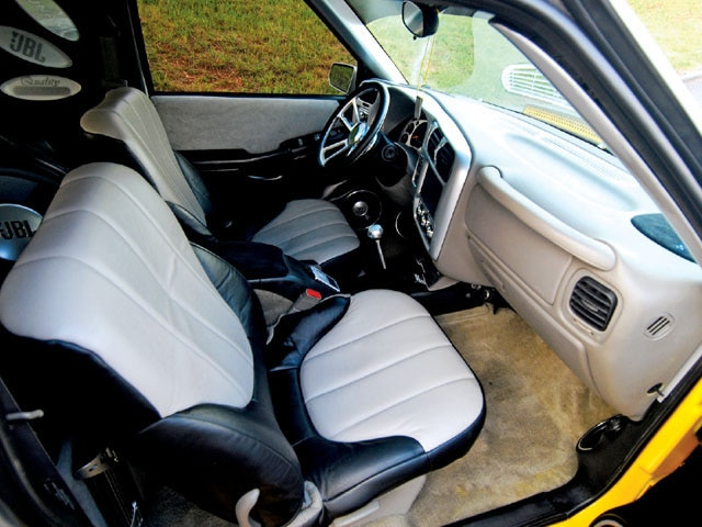 2002 Gmc Sonoma custom Interior