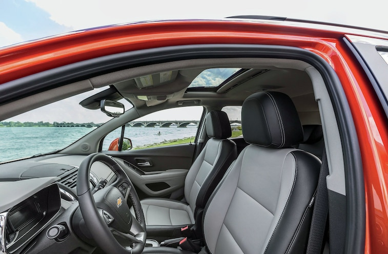 2015 Chevy Trax Ltz Awd Front Seats