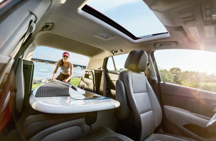 2015 Chevy Trax Ltz Awd Interior
