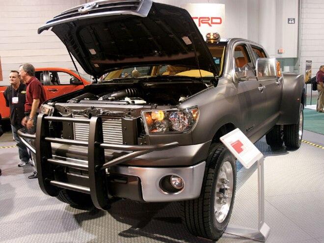 sema Show 2007 toyota Tundra Diesel