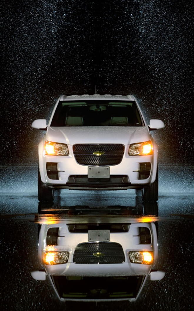 2008 Chevrolet Equinox FCV front View