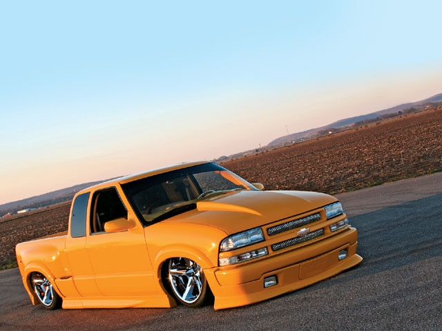 2003 Chevy S10 Extreme - Mellow Yellow Photo & Image Gallery