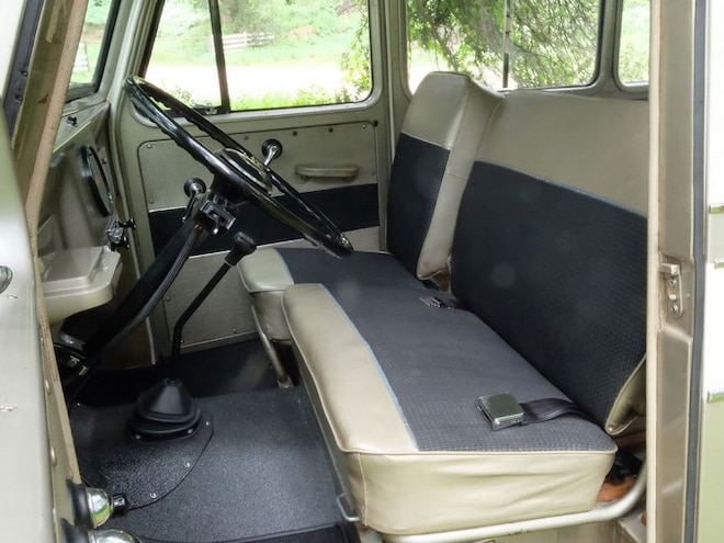 1960 Willys Overland Wagon Front Seats