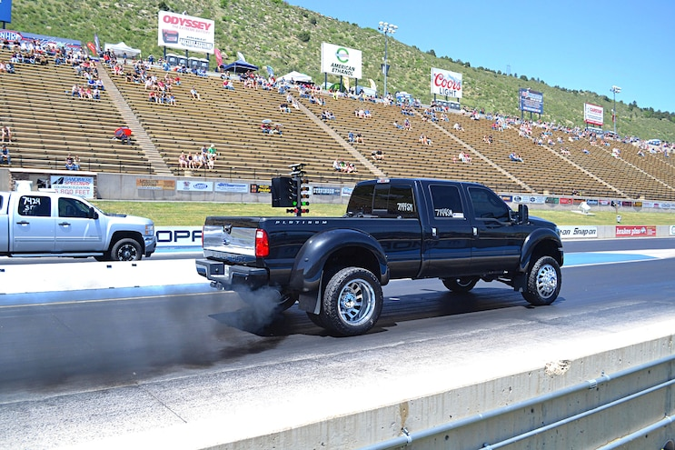 NHRDA 2016 Diesels on the Mountain: Dominating the Dragstrip