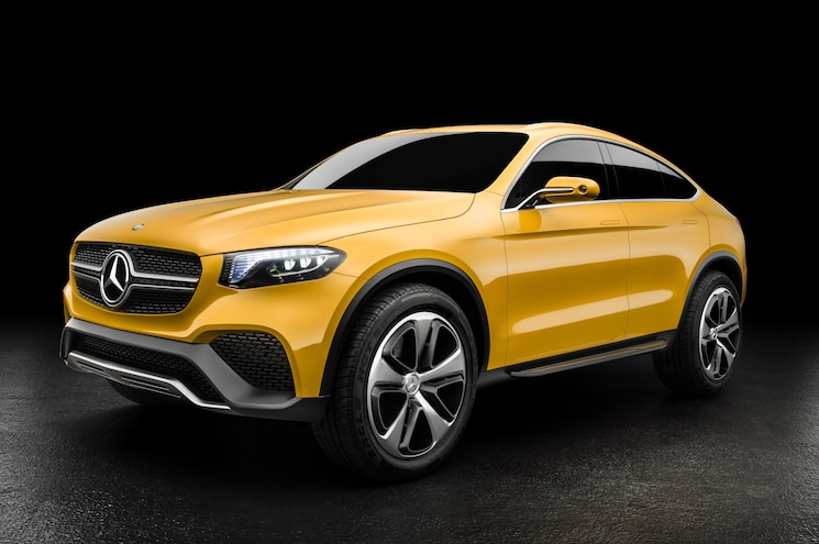 Mercedes-Benz Concept GLC Coupé Shows X4-Rivaling Style in Shanghai