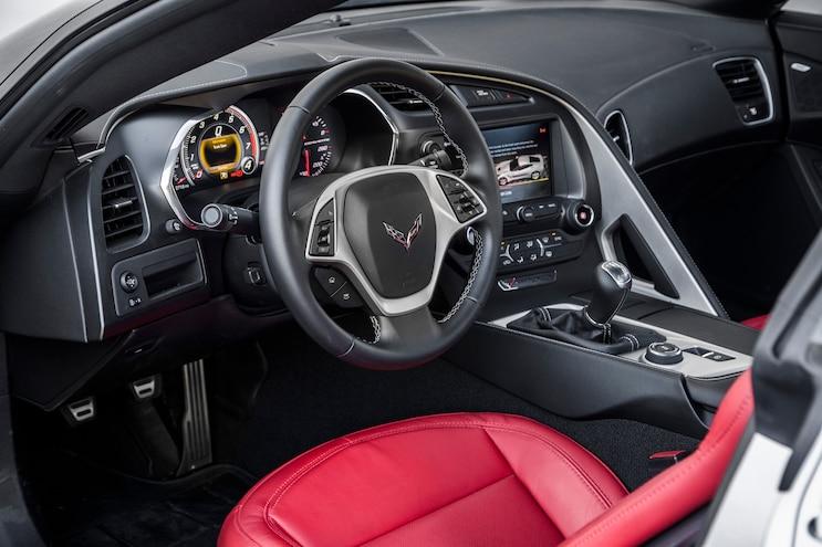 2015 Chevrolet Corvette Stingray Z51 Interior Driver Side