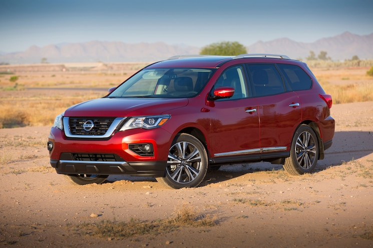 Nissan Reveals 2017 Pathfinder at Enthusiast Network Offices