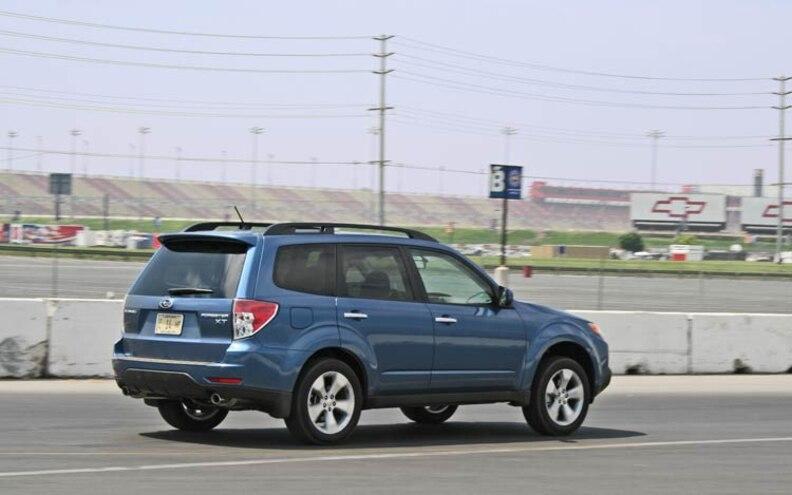 2009 Subaru Forester rear View