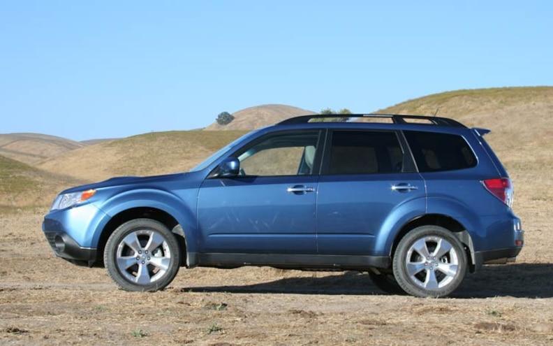 2009 SUOTY Contender: 2009 Subaru Forester Photo Gallery