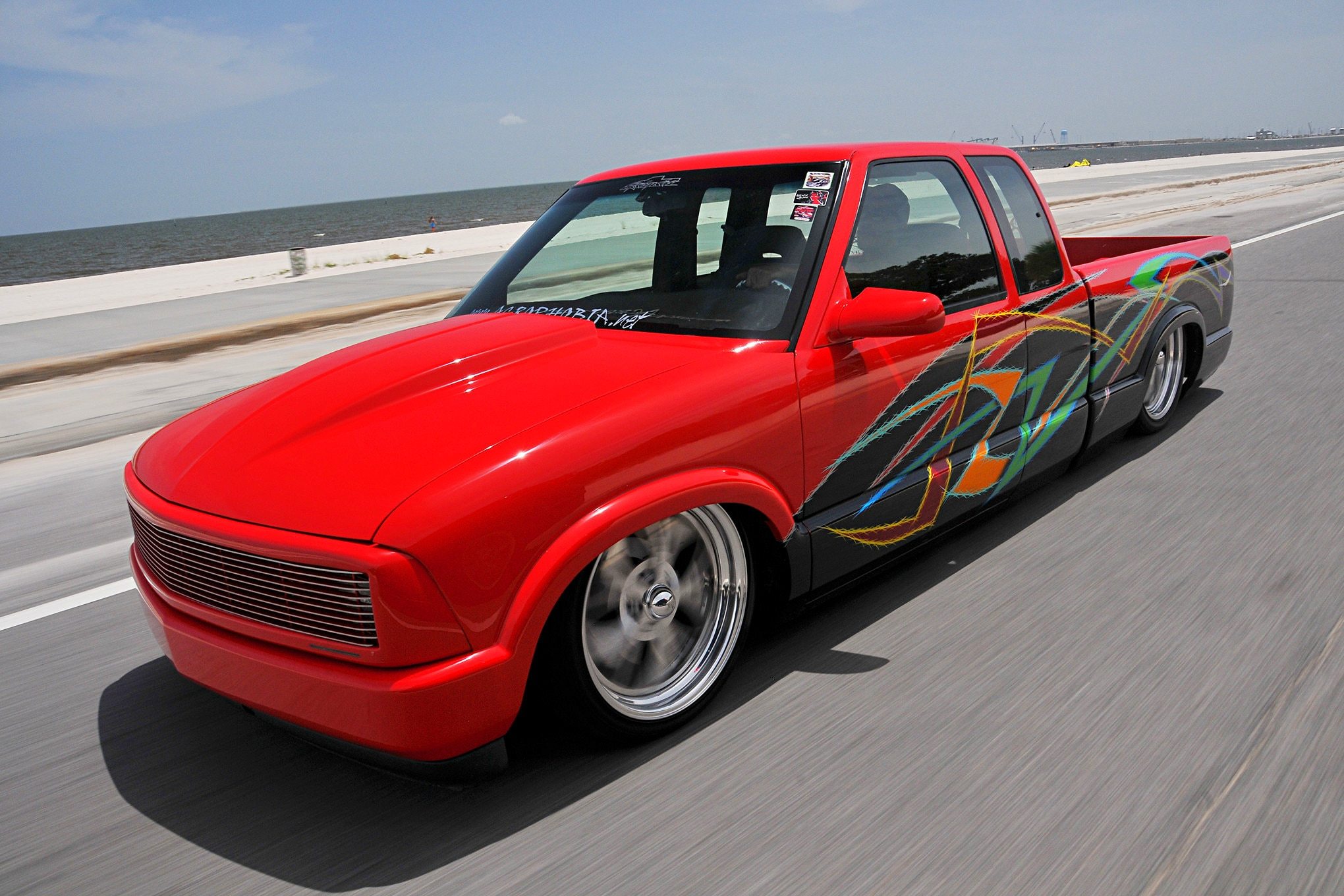 1996 chevy s10 little red devil truck trend