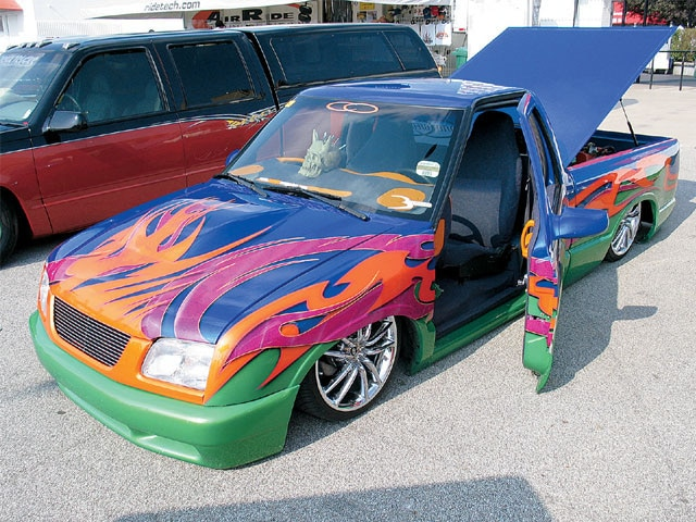 import Truck Bash suicide Doors
