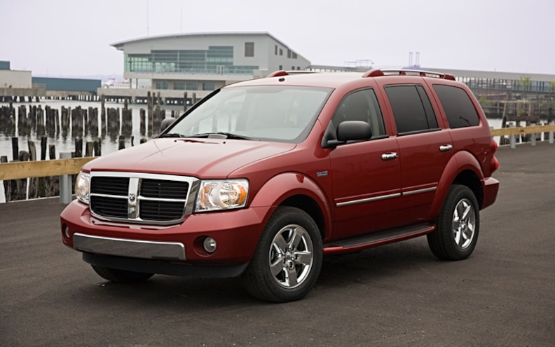 2009 Dodge Durango Hybrid Rear View Photo Gallery