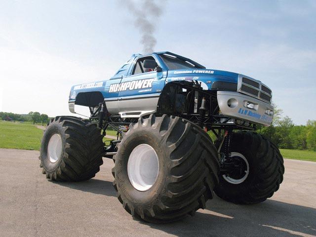 2002 Dodge Ram Cummins Monster Truck Custom Diesel Trucks Diesel