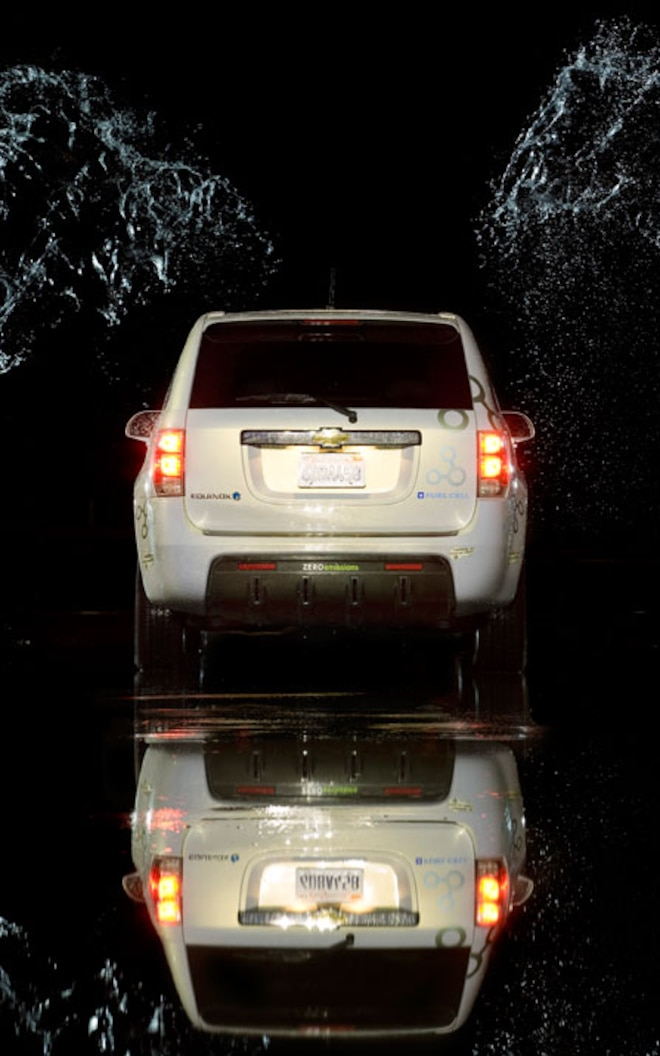 2008 Chevrolet Equinox FCV rear View