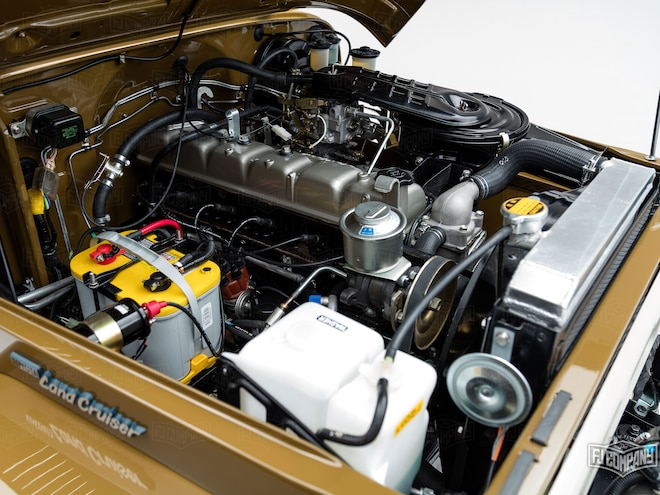 Restored 1981 Toyota Land Crusier 2f Engine