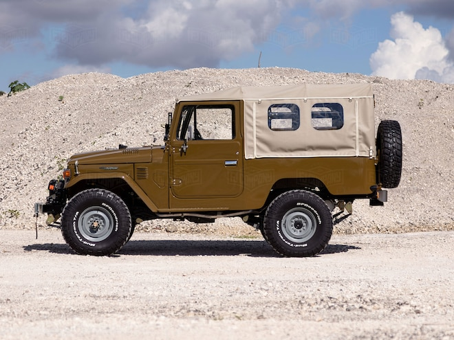 This Restored 1981 Toyota Land Cruiser FJ43 is Ready for the Copperstate Overland Rally
