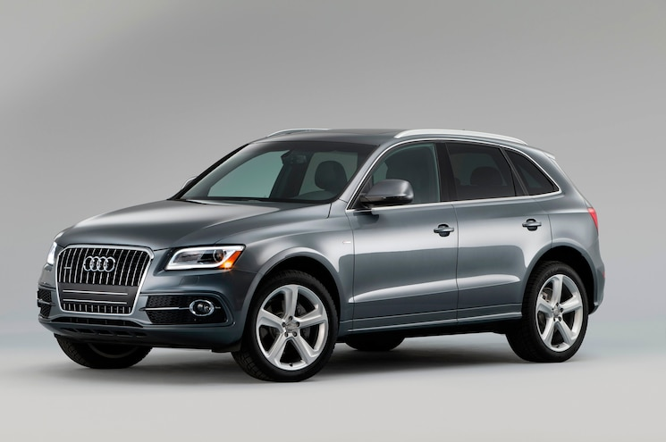 2015 Audi Q5 Front Three Quarter