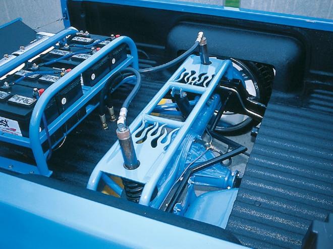 1992 Nissan Hardbody rear Axle