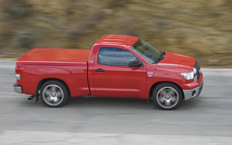 2008 Toyota Tundra Trd Supercharged top Passenger Side View