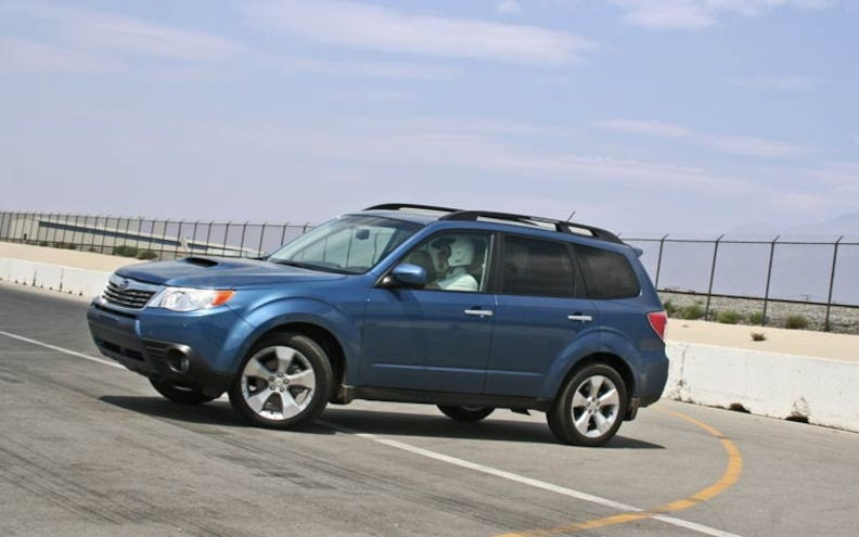 2009 Subaru Forester side View