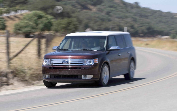 2009 Ford Flex Front View
