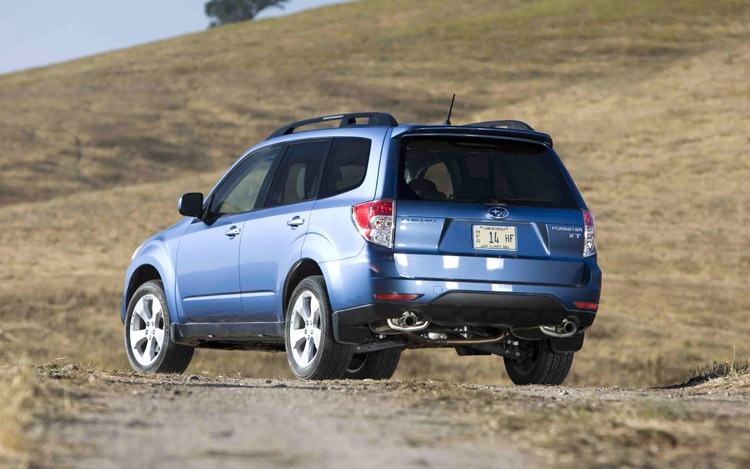 2009 Subaru Forester Rear Three Quarter View