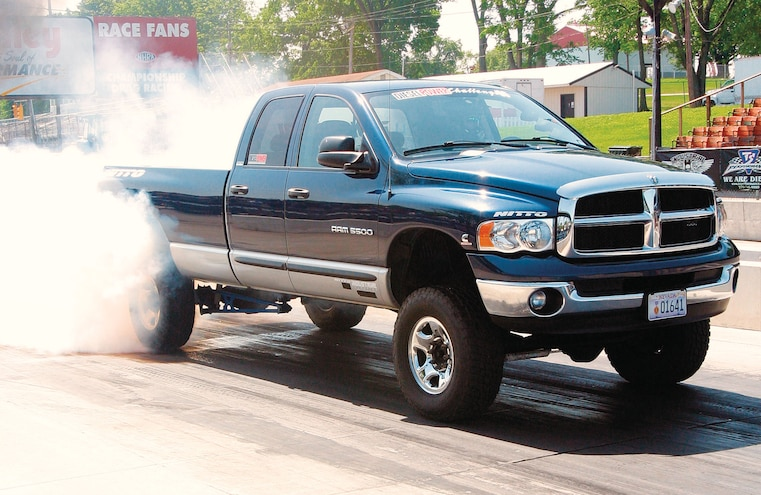 2004 Dodge Ram 2500 Burnout
